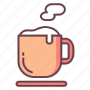 beverage, cafe, coffee corner, cup, drink, hot, tea icon
