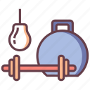 dumbbell, equipment, exercise, gym, health, weight, workout icon