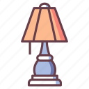 decoration, furniture, home, house, interior, lamp, living room icon