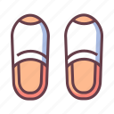 bedroom, clothing, comfort, comfortable, footwear, slipper, slippers icon