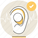 ear, free, hostel, hotel, plugs, resort, services icon