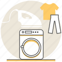 hostel, hotel, laundry, resort, room, services, washing icon