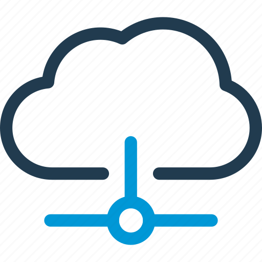 cloud, connection, data, host, hosting, info, information icon