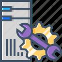cloud, computer, configuration, hosting, server icon
