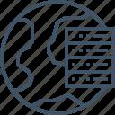 connection, hosting, internet, network, online, server, vps icon