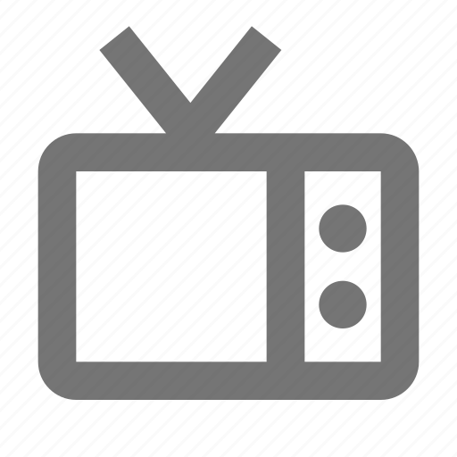 Television, tv, antenna, device, retro, technology icon - Download on Iconfinder