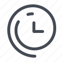 time, savings, passing, clock, daylight, clockwise, weather icon