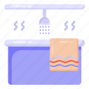 washroom, bathroom, shower, jacuzzi