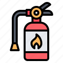 fire extinguisher, firefighter, firefighting, safety, equipment