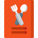 cooking, food, kitchen, meal, menu, restaurant icon