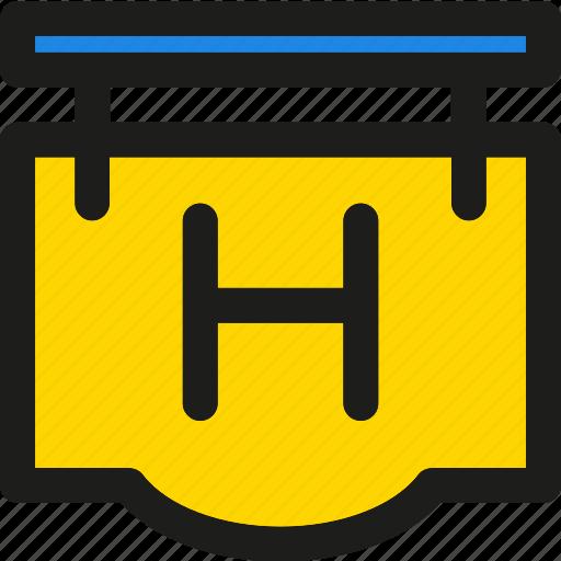 arrow, arrows, direction, hotel, service, sign, travel icon