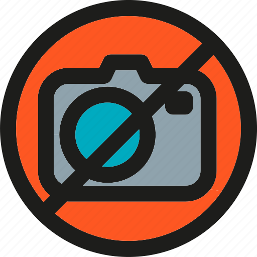 camera, image, media, no, photo, photography, picture icon