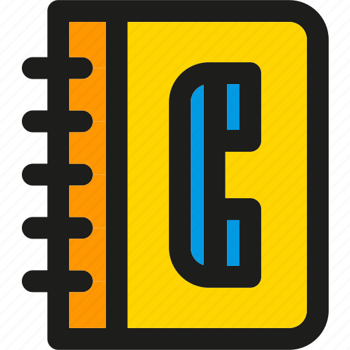 address, call, communication, phone, phonebook, telephone icon