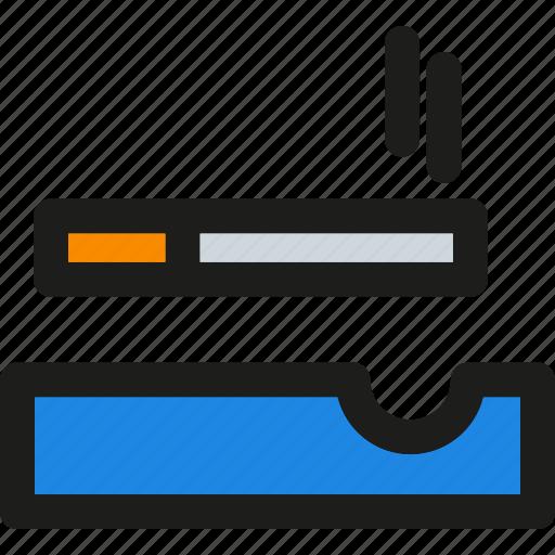 cigarette, forbidden, no, prohibited, smoke, smoking, tobacco icon