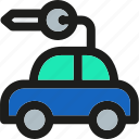 auto, automobile, car, hire, transport, transportation icon
