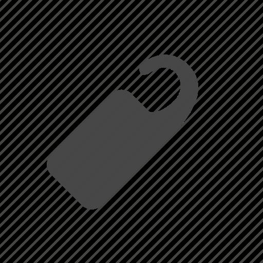 door, hotel, label, tag icon