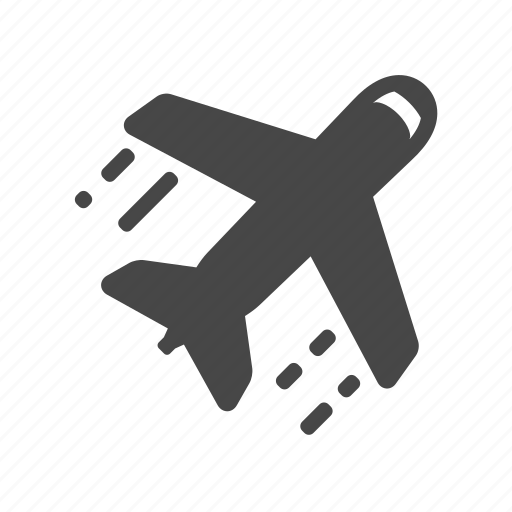 airport, fly, plane, trave icon