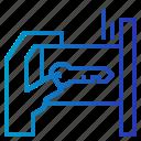 card, key, security, unlock icon