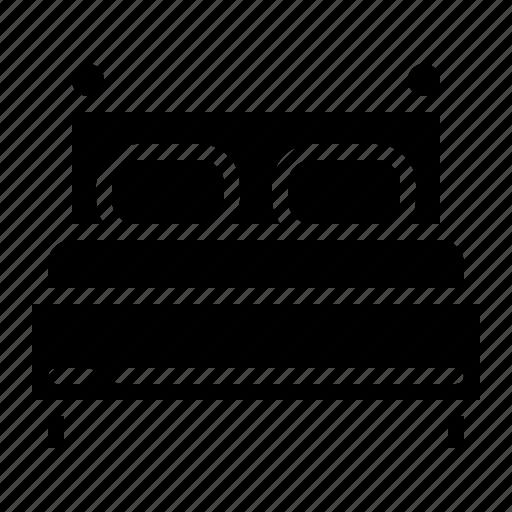 Bed, bedroom, hotel, sleep icon - Download on Iconfinder