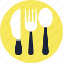 .svg, cutlery, icon, knife, spoon, vector icon