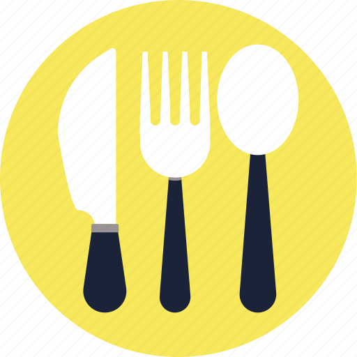.svg, cutlery, icon, knife, spoon, vector icon
