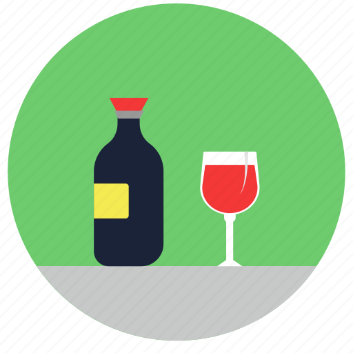 .svg, alcohol, beer, bottle, drink, wine icon
