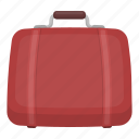 bag, hotel, luggage, suitcase, things, tourism, travel icon