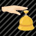 call, communication, gesture, hand, hotel, reception, service
