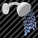 bathroom, equipment, hygiene, plumbing, service, shower, water icon