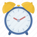 alarm, call, clock, device, lifting, time, watch icon