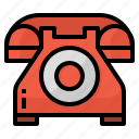 communicate, phone, telephone, vintage icon