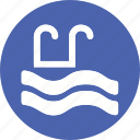 hotel, pool, sports, swim, swimming, travel, water icon