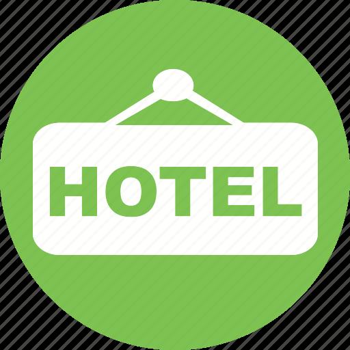 accommodation, hotel, resort, travel, vacation icon icon