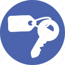 hotel, key, lockpad, password, protect, security, travel icon
