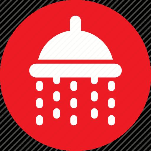 bath, hotel, outdoor, shower, travel, vacation, washroom icon icon