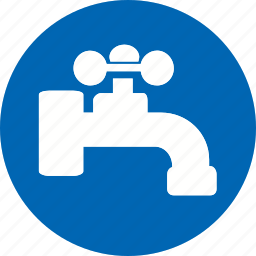 hand, hotel, outdoor, tap, travel, vacation, water icon icon