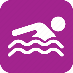 hotel, pool, service, sports, swim, swimming, water icon