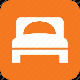 bedroom, furniture, hotel, room, service, sleep icon