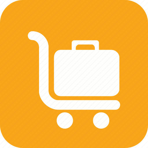 boxes, carry, hotel, load, trip, trolly icon icon
