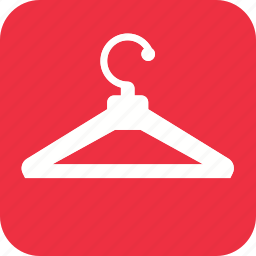 acomodation, clothing, fashion, hanger, hanger icon, hotel, style icon