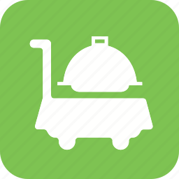 acomodation, hotel, room, room service, service, serving, waiter icon icon