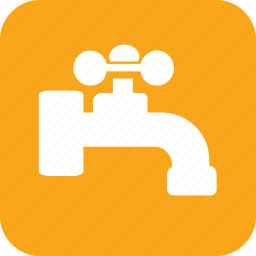acomodation, hand, hotel, tap, vacation, water icon icon