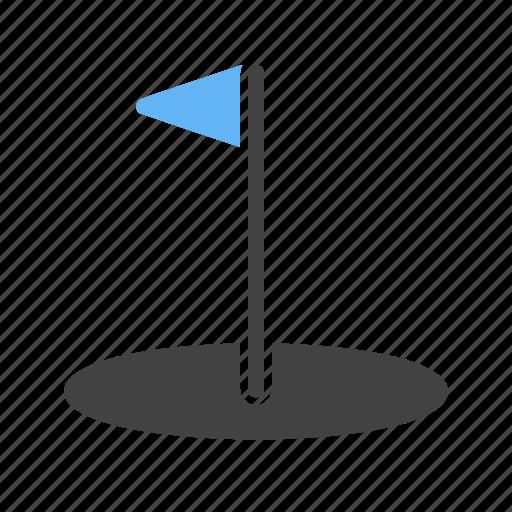 ball, goal, golf, player, post, sports\, stick icon