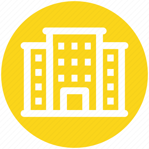 .svg, building, commercial building, guest house, hotel, hotel building, real estate icon