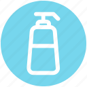 .svg, conditioner, foam dispenser, liquid bottle, lotion, shampoo, soap dispenser icon