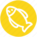 .svg, diet, fish, food, healthy food, meal, seafood icon
