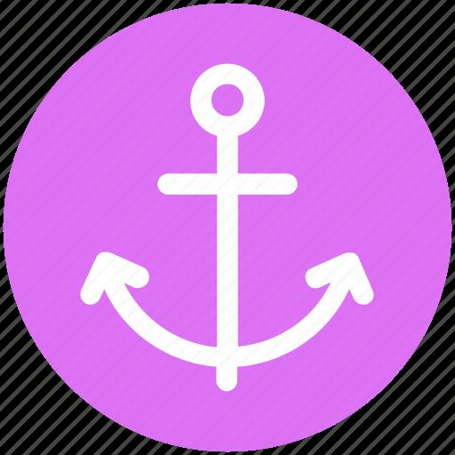 .svg, anchor, boat anchor, naval, sailing boat, sea life, ship anchor icon
