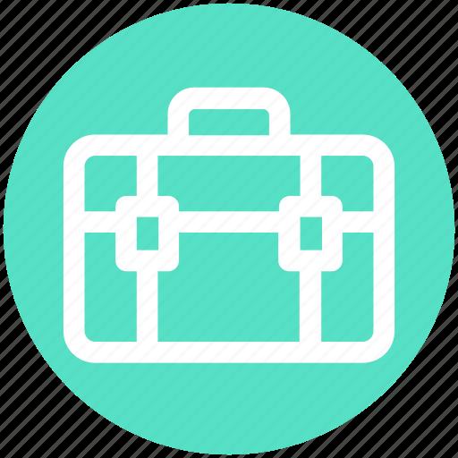 .svg, bag, briefcase, luggage, portfolio bag, satchel, trip bag icon