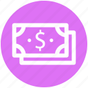 .svg, currency, dollar notes, paper money, saving, usd, wealth icon
