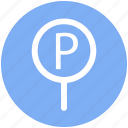 .svg, car, car parking, parking, parking sign, road, sing icon